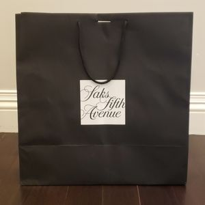 BRAND NEW Saks Fifth 5th Avenue Gift Shopping Bag